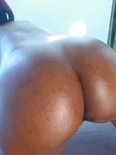 Big ass whores are fooling around, posing and teasing with their large round booties