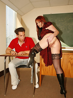 bubble butt milf teacher fucking