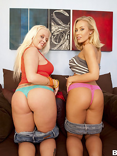 Large bum Blondes With Blue Eyes Feat. Beauty Vain, Nicole Aniston
