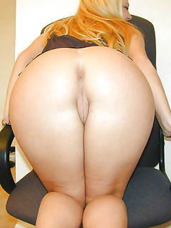 Featuring curvy figured ladies and great wet asses