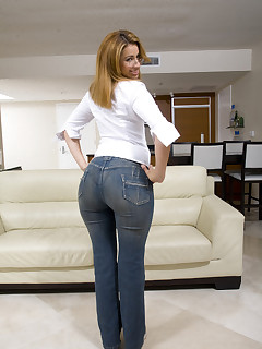 Giant ass girls in jeans