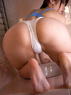 Hot asian fat culo and big butt women