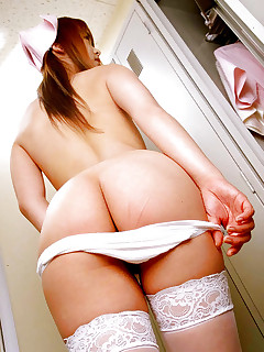 Hawt oriental bubble butt and fat rump babes