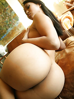Gorgeous gals with large asses