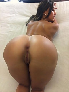 Marvelous beauties with big asses