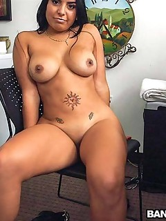 Latina escort tries porn