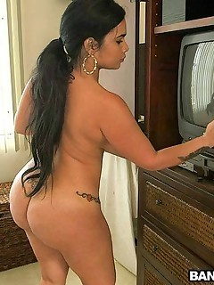 Tight butt Cuban maid acquires fucked