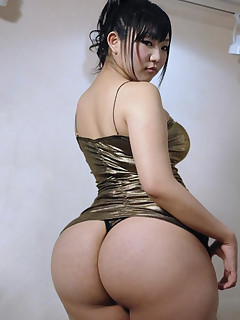 Sexy oriental tight ass and..