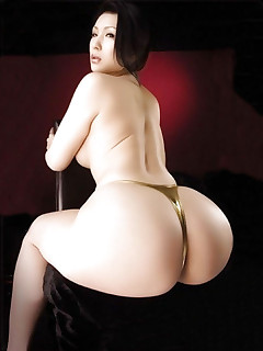 Sexy oriental phat booty and..